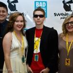 Francis Sabando, Kimberly Slusser, Brian Slusser, and Kassandra Byers