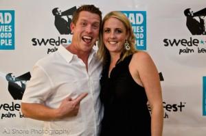 Kaleb Hedrick and Amy Harris