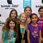 Skye Friedman, Claire Oberlin, Marissa Hart, Natalie Hart, Lilli Gereever, and Stevie Wigglesworth